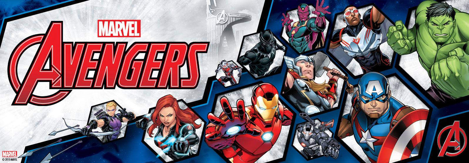 Oprawki Avengers