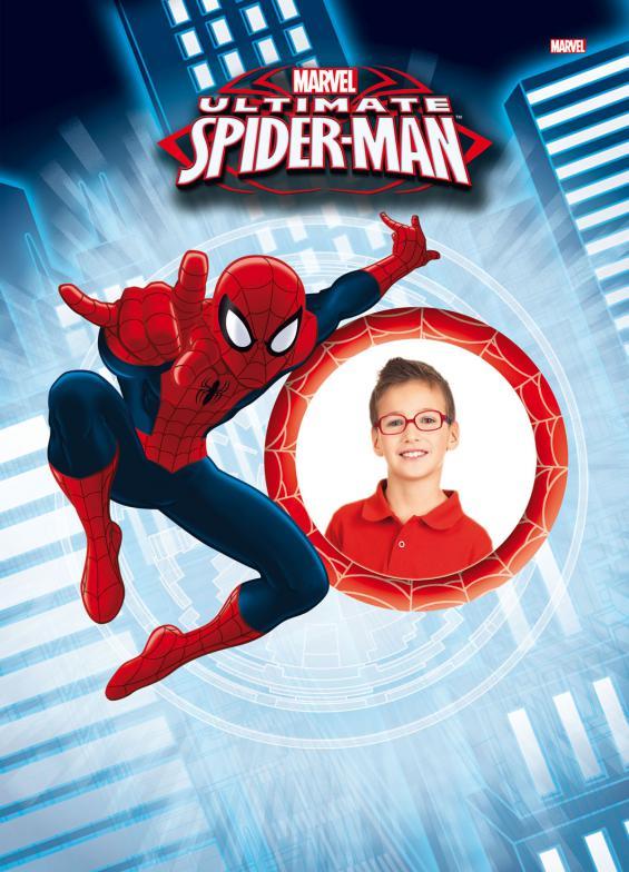 Oprawki Spider Man