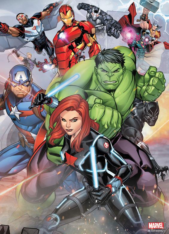 Katalog oprawki Avengers